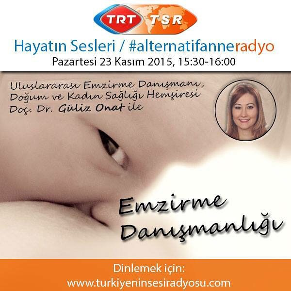 TRT Radyo Alternatif Anne Program Söyleşi Güliz Onat